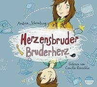 Cover-Bild zu Herzensbruder, Bruderherz von Schomburg, Andrea