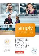 Cover-Bild zu Simply Business A2+ . Coursebook mit Audio-CD und Video-DVD von Lloyd, Angela