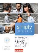 Cover-Bild zu Simply Business B1+ von Lloyd, Angela