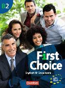 Cover-Bild zu First Choice B2. Kursbuch von Lackman, Ken