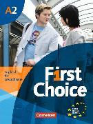 Cover-Bild zu First Choice Europäischer Referenzrahmen: A2 Kursbuch von Lloyd, Angela