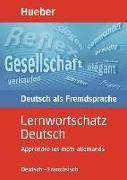 Cover-Bild zu Lernwortschatz Deutsch von Lübke, Diethard