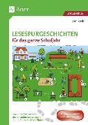 Cover-Bild zu Lesespurgeschichten für das ganze Schuljahr von Rook, Sven