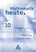Cover-Bild zu Mathematik heute - Ausgabe 2004 Mittelschule Sachsen von Postel, Helmut (Hrsg.)