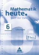 Cover-Bild zu Mathematik heute - Welt der Zahl Ausgabe 2004 für das 5. und 6. Schuljahr in Berlin und Brandenburg von Griesel, Heinz (Hrsg.)