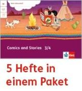 Cover-Bild zu Mein Indianerheft. Comics and Stories. Arbeitsheft Klasse 3/4 (5-er Paket)