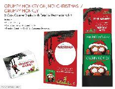 Cover-Bild zu Lang, Suzanne: Grumpy Monkey Oh, No! Christmas 8-Copy Counter Display