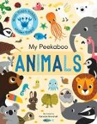 Cover-Bild zu Edwards, Nicola: My Peekaboo Animals