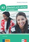 Cover-Bild zu Deutsch echt einfach A2. Übungsbuch + MP3 Dateien online