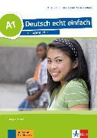 Cover-Bild zu Deutsch echt einfach A1.Kursbuch mit Audios und Videos online