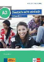 Cover-Bild zu Deutsch echt einfach A2. Kursbuch + MP3/MP4 Dateien online