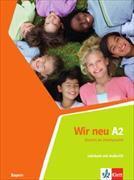 Cover-Bild zu Wir neu A2 (Bayern) von Jenkins-Krumm, Eva-Maria