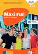 Cover-Bild zu Maximal A1.2. Kurs- und Arbeitsbuch mit Audios und Videos von Brass, Claudia