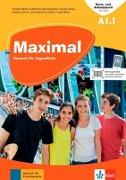 Cover-Bild zu Maximal A1.1. Kurs- und Arbeitsbuch mit Audios und Videos von Brass, Claudia