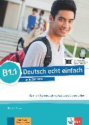 Cover-Bild zu Deutsch echt einfach B1.1. Kurs- und Übungsbuch mit Audios und Videos online von Motta, Giorgio