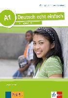 Cover-Bild zu Deutsch echt einfach A1. Übungsbuch mit Audios online von Motta, Giorgio
