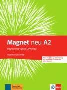 Cover-Bild zu Magnet neu A2. Testheft + Audio-CD (Goethe-Zertifikat A2: Fit in Deutsch) von Motta, Giorgio