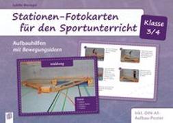 Cover-Bild zu Stationen-Fotokarten für den Sportunterricht - Klasse 3/4 von Bierögel, Sybille