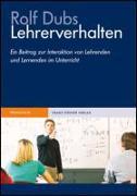 Cover-Bild zu Lehrerverhalten von Dubs, Rolf
