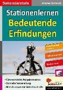 Cover-Bild zu Stationenlernen Bedeutende Erfindungen (eBook) von Schmidt, Andrea