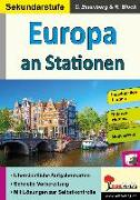 Cover-Bild zu Europa an Stationen / Sekundarstufe von Eisenberg, Claudia