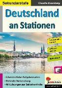 Cover-Bild zu Deutschland an Stationen / Sekundarstufe von Eisenberg, Claudia