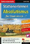 Cover-Bild zu Stationenlernen Absolutismus