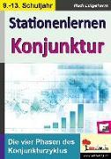 Cover-Bild zu Stationenlernen Konjunktur