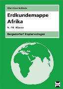 Cover-Bild zu Erdkundemappe Afrika von Schlote, Christine