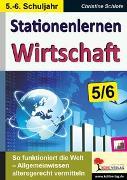 Cover-Bild zu Stationenlernen Wirtschaft / Klasse 5-6 (eBook) von Schlote, Christine