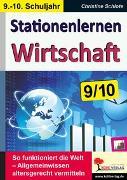 Cover-Bild zu Stationenlernen Wirtschaft / Klasse 9-10 (eBook) von Schlote, Christine