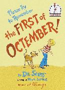 Cover-Bild zu Please Try to Remember the First of Octember! von Lesieg, Theo.
