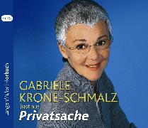 Cover-Bild zu Krone-Schmalz, Gabriele: Privatsache (Audio Download)
