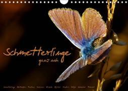 Cover-Bild zu Schmetterlinge ganz nah (Wandkalender 2021 DIN A4 quer) von Delgado, Julia