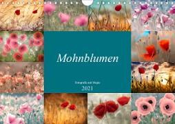 Cover-Bild zu Mohnblumen - Fotografie mit Magie (Wandkalender 2021 DIN A4 quer) von Delgado, Julia