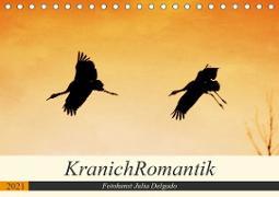 Cover-Bild zu KranichRomantik (Tischkalender 2021 DIN A5 quer) von Delgado, Julia