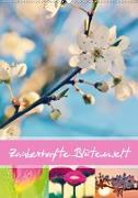Cover-Bild zu Zauberhafte Blütenwelt / Planer (Wandkalender 2021 DIN A2 hoch) von Delgado, Julia