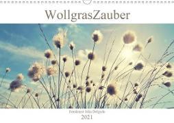 Cover-Bild zu Wollgraszauber (Wandkalender 2021 DIN A3 quer) von Delgado, Julia