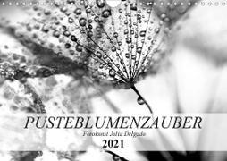 Cover-Bild zu Pusteblumenzauber in schwarzweiß (Wandkalender 2021 DIN A4 quer) von Delgado, Julia