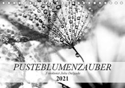 Cover-Bild zu Pusteblumenzauber in schwarzweiß (Tischkalender 2021 DIN A5 quer) von Delgado, Julia