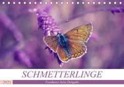 Cover-Bild zu Schmetterlinge im Fokus (Tischkalender 2021 DIN A5 quer) von Delgado, Julia