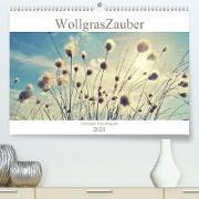 Cover-Bild zu Wollgraszauber (Premium, hochwertiger DIN A2 Wandkalender 2021, Kunstdruck in Hochglanz) von Delgado, Julia