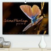 Cover-Bild zu Schmetterlinge ganz nah (Premium, hochwertiger DIN A2 Wandkalender 2021, Kunstdruck in Hochglanz) von Delgado, Julia
