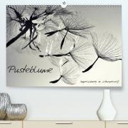Cover-Bild zu Pusteblume - Impressionen in schwarzweiß (Premium, hochwertiger DIN A2 Wandkalender 2021, Kunstdruck in Hochglanz) von Delgado, Julia