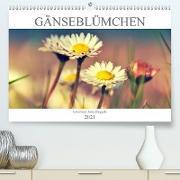 Cover-Bild zu Gänseblümchen Poesie (Premium, hochwertiger DIN A2 Wandkalender 2021, Kunstdruck in Hochglanz) von Delgado, Julia