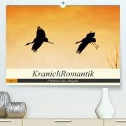 Cover-Bild zu KranichRomantik (Premium, hochwertiger DIN A2 Wandkalender 2021, Kunstdruck in Hochglanz) von Delgado, Julia