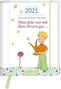 Cover-Bild zu Buchkalender Man sieht nur mit dem Herzen gut ... 2021