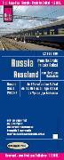 Cover-Bild zu Reise Know-How Landkarte Russland - vom Ural zum Baikalsee (1:2.000.000). 1:2'000'000