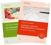 """Cover-Bild zu Set """"So gelingen spannende Bildungsprojekte im Kindergarten"""" und """"Das Apfelprojekt"""" von Bostelmann, Antje"""