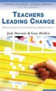 Cover-Bild zu Teachers Leading Change (eBook) von Durrant, Judith